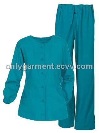 OL N1001 - China nurse uniform medical scrubs sets hospital uniform