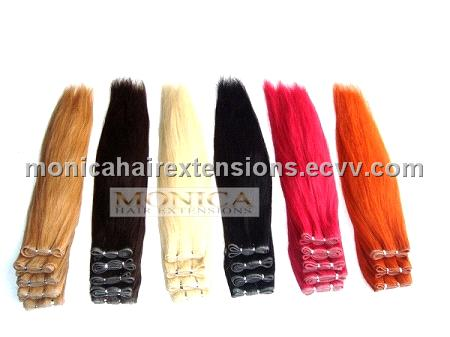 Skin Weft Hair Extensions Remy 88