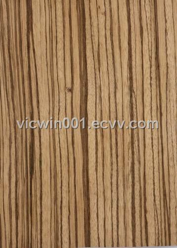 Zebrano Veneer (vw-028) - China decorative zebrawood veneer, vicwin ...