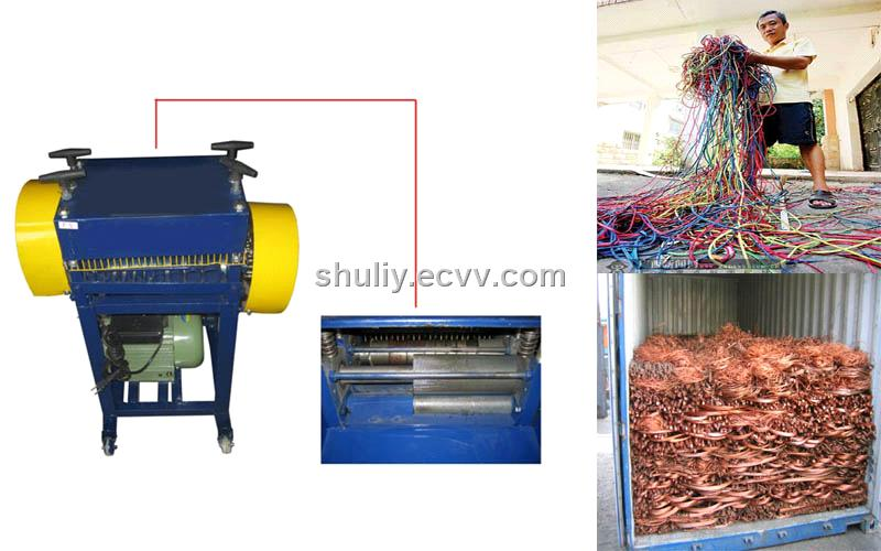Wire Cable Stripping Machine for Recycling SL918B purchasing ...