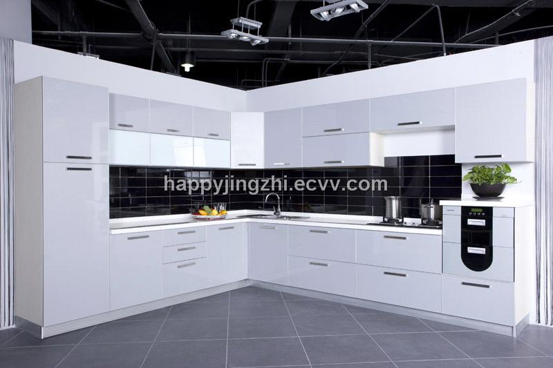 high gloss kitchen cabinet (lacquer) (JZ013) - China modern