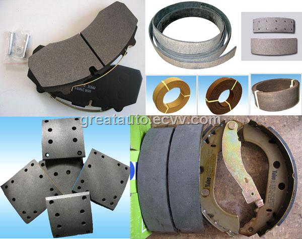 Brake Pad And Lining : Offer brake lining pad and shoes purchasing