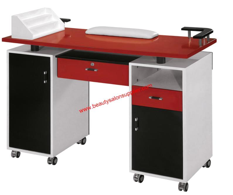 Beauty salon table manicure table for Nail salon table