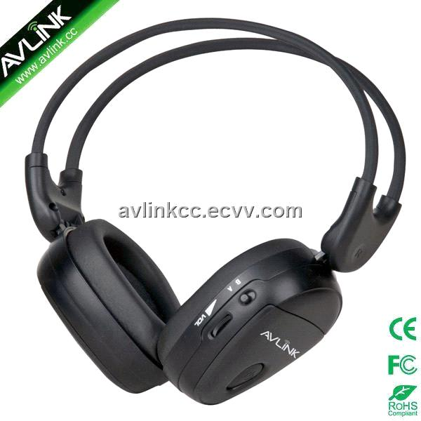 Infrared headphones for car dvd player