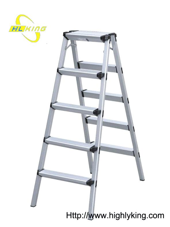 Scaffolding tower > Aluminium folding Double side step ladder(HD-105