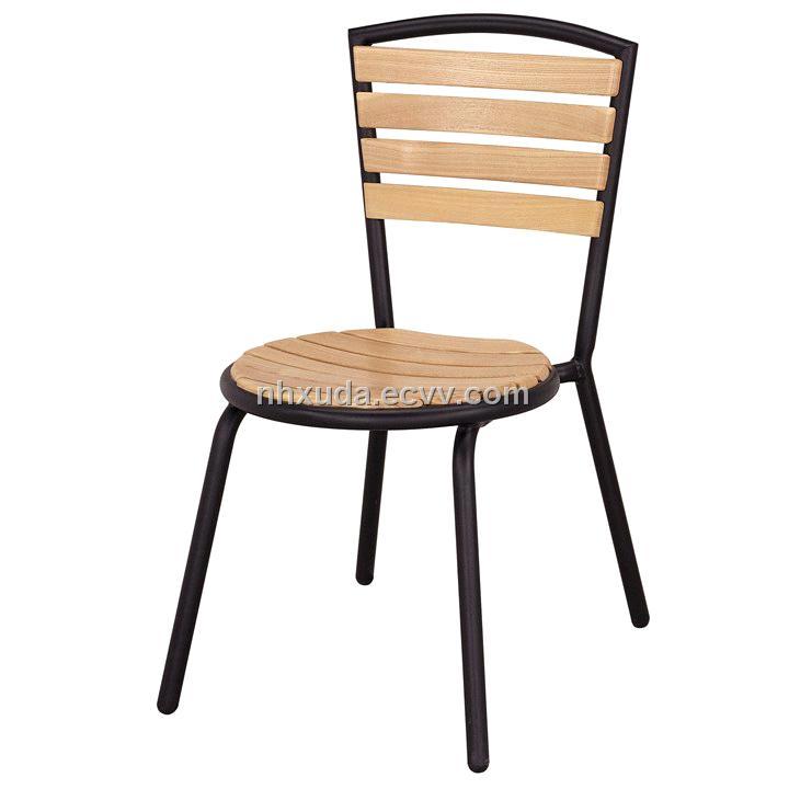 Aluminum ASH Wood Chair(round Seat)