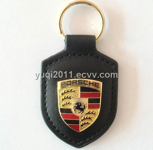 Porsche Cars Logo Car Logo Porsche pu Keychain