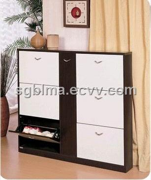 Deodorization and Sterilization MDF Modern Shoe Rack Designs Wood