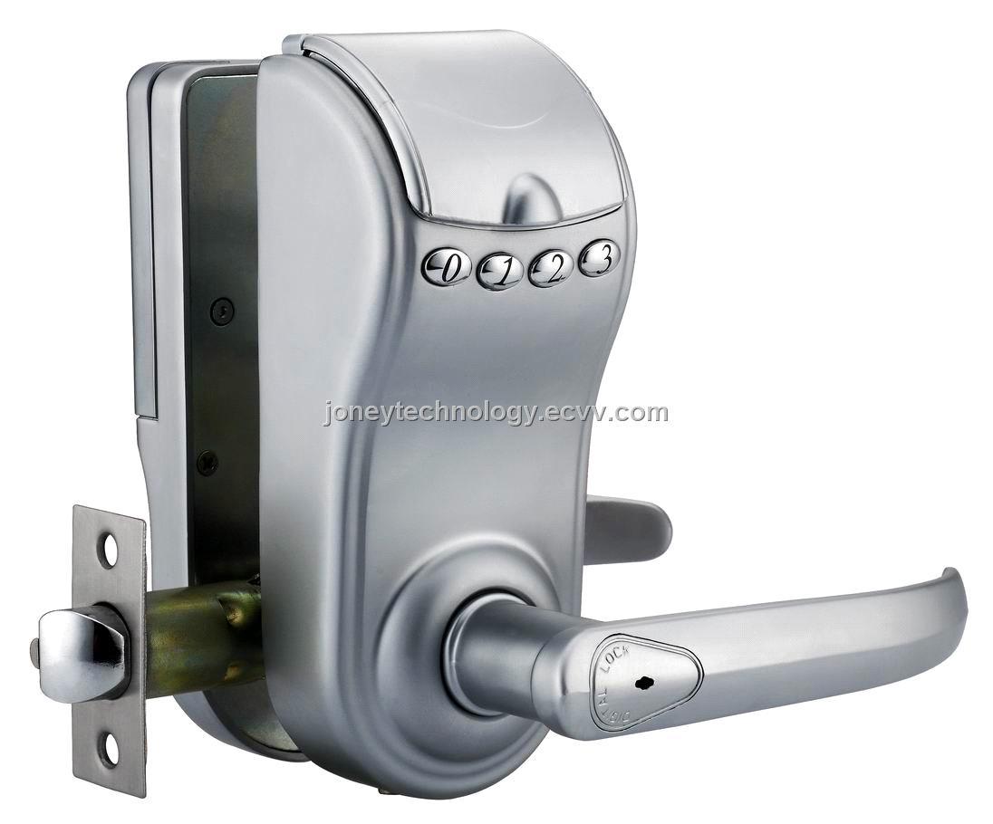 Hotel Fingerprint Door Lock With Handle Jyd 6e