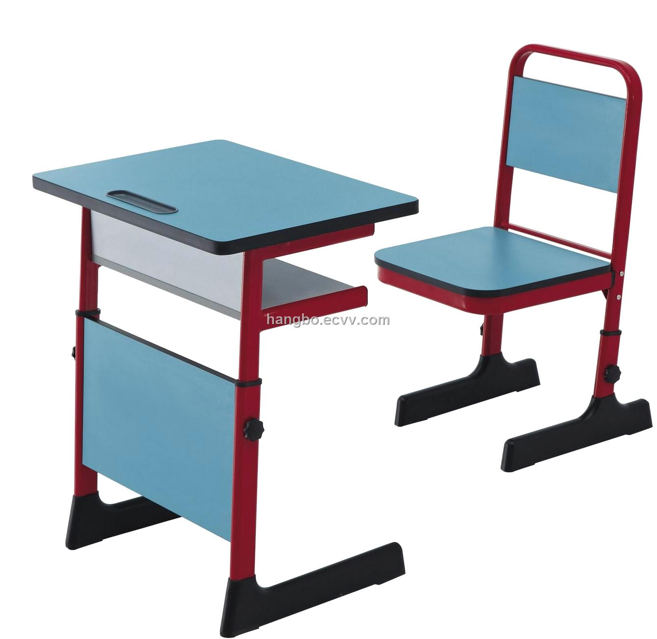 Adjustable school table and chair china school furniture - Ergonomic table and chair ...