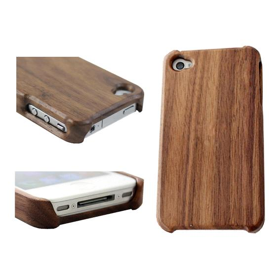 one piece black walnut wood case cover for iphone 4 4s purchasing souring agent. Black Bedroom Furniture Sets. Home Design Ideas