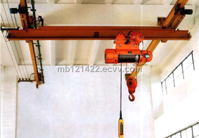 Single Girder Electric Hoist Suspension Overhead Eot Crane