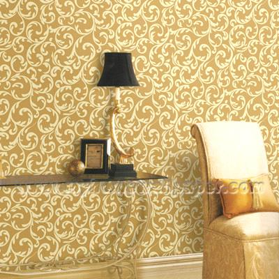 European style bedroom decoration vinyl wallpaper wp0804 for Bedroom wallpaper designs india