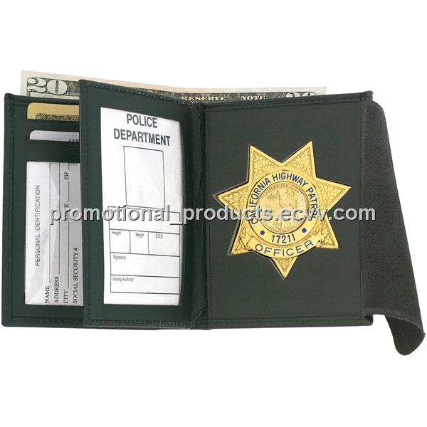 Police Wallet, Badge Wallet & Leather Badge Holders 