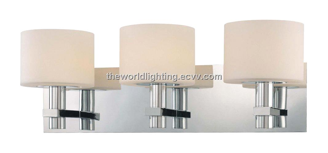 Bl6003 Chrome Metal Stand Glass Cover Modern Bathroom Vanity Light With 4 Bulbs Purchasing