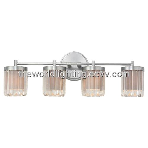 Bl6010 Chrome Metal Stand Glass Cover Modern Bathroom Vanity Light With 3 Bulbs Purchasing