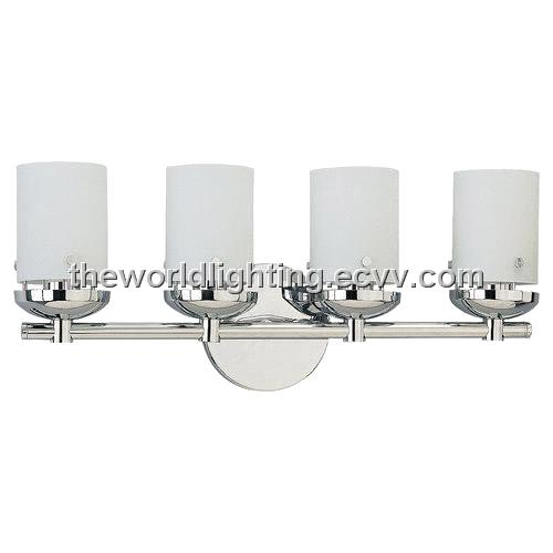 Vanity Light Glass Cover : BL6012-Chrome Metal Stand Glass Cover Modern Bathroom Vanity Light with 3 Bulbs China purchasing ...