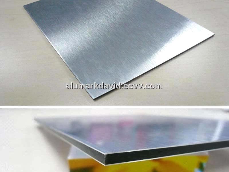 Silver Brush Aluminum Composite Panel Board Panel Am 152
