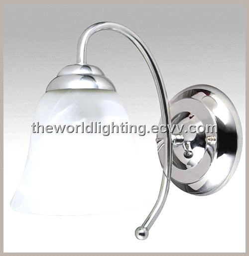 Vanity Light Glass Cover : VC859-2W-Chrome Steel Stand Glass Cover Bathroom Vanity Light with 2 Lamps purchasing, souring ...