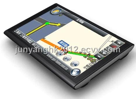 Inch Car Navigation GPS with Android 4.0 System and 8GB Flash (JY