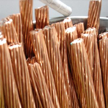 Copper Stranded Wire With 20 Electrical Conductivity Made