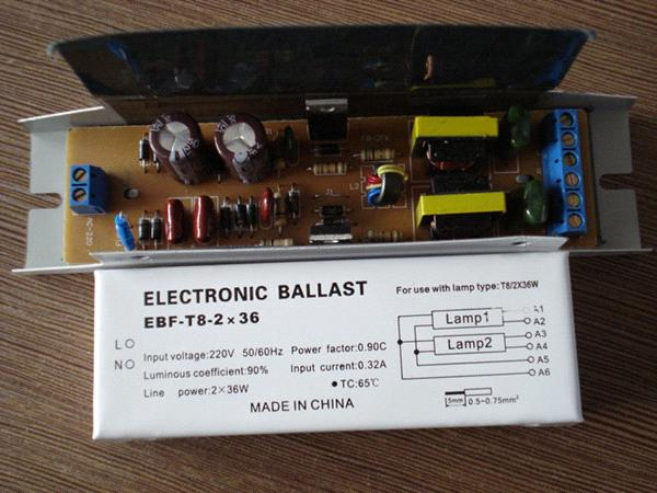 Electronic Ballast for T8 Fluorescent Lamps HGF.