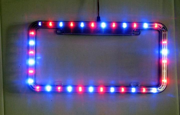 High Quality Led License Plate Frame Led Car Lighting
