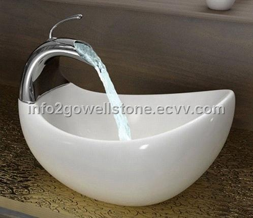 High Quanlity Acrylic Solid Surface Bathroom Sink or Wash Basin ...