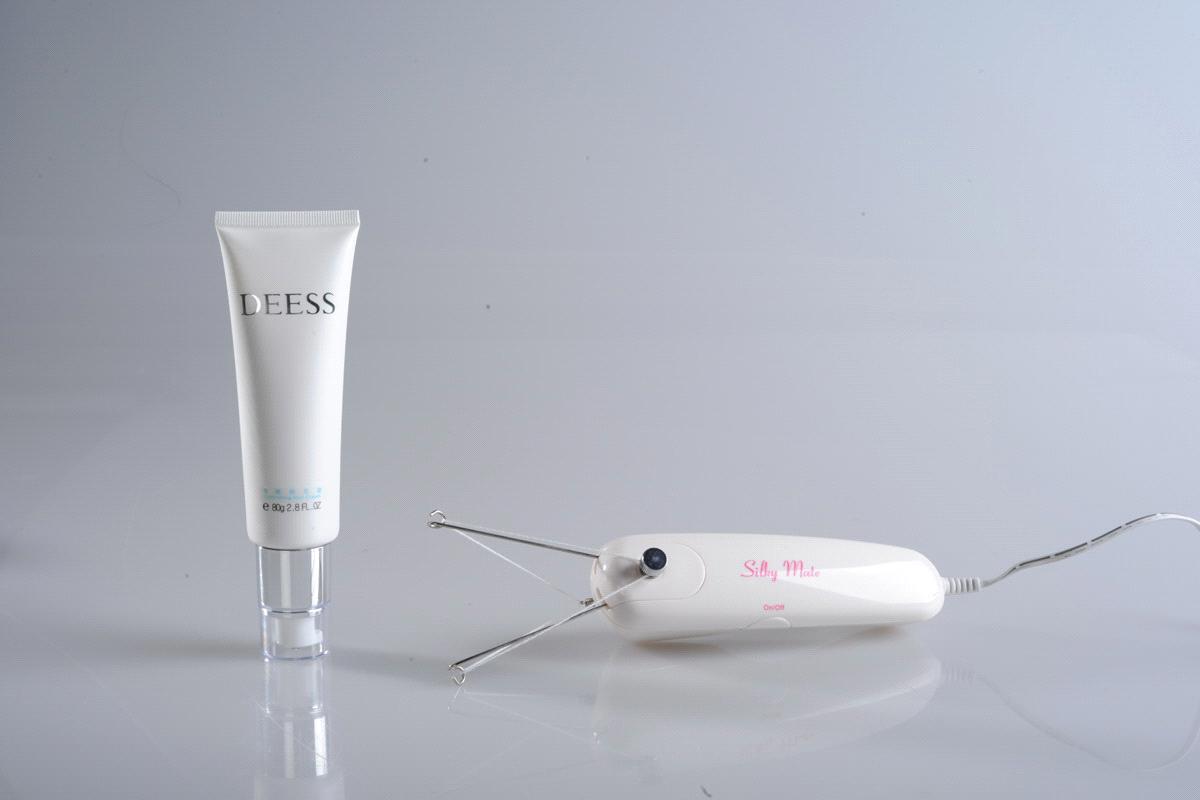 threader hair removal machine