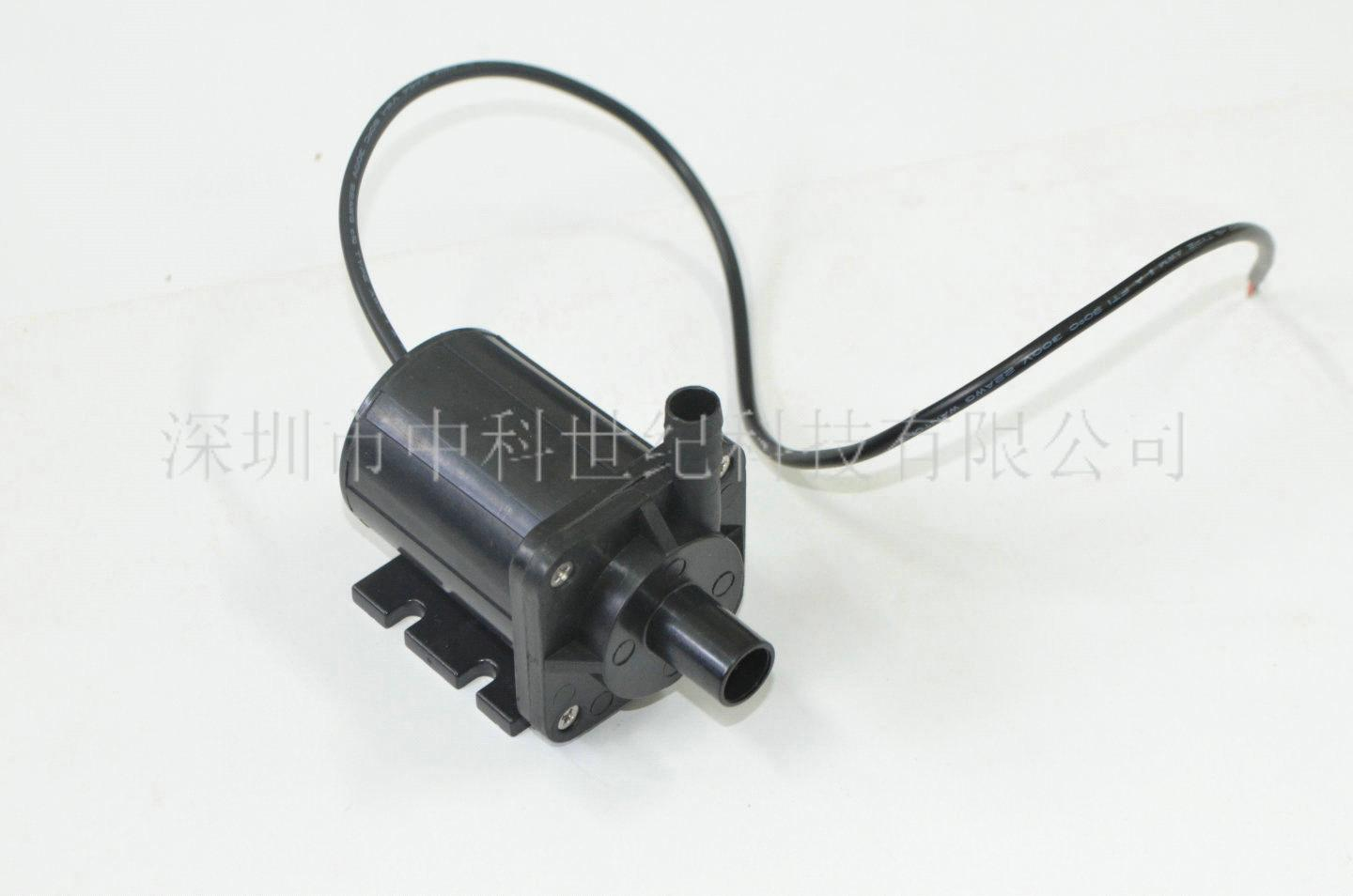 New dc cooling brushless 12v motor water pump 350ma1 5m for Dc motor water pump