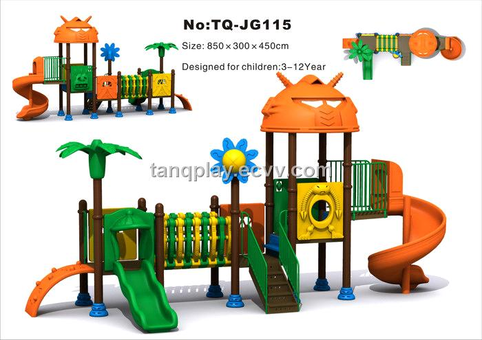> nice simple king kong park for kids outdoor playground (tq-jg115