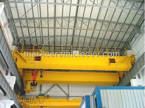 QD type Double Beam Overhead Crane (Bridge Crane) QD Type Double Beam Overhead Crane