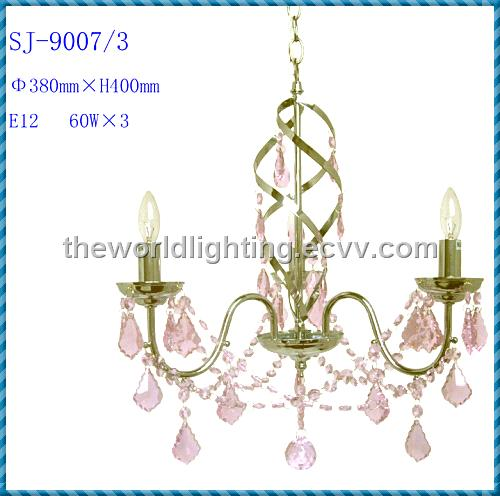 Classical European Capodimonte Crystal Chandelier In China