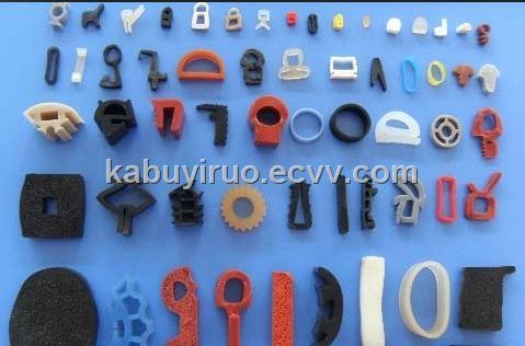 Silicone rubber seal tubing strip extrusion profile china silicone
