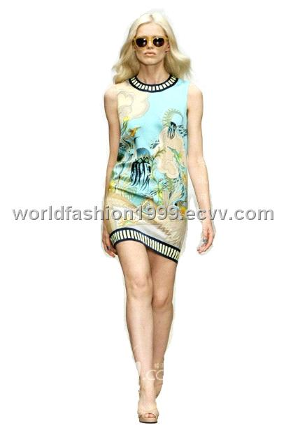wholesale ladies fashion dress high end designer dress