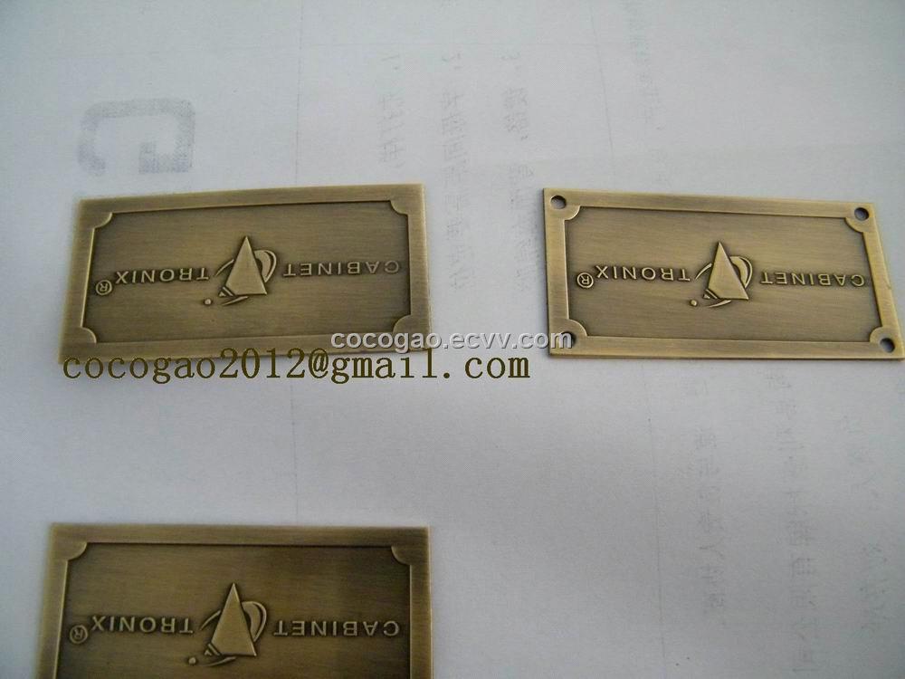 Brass Tag Metal Logo Furniture 28 Images Metal Furniture Labels Metal Nameplates For Sofa