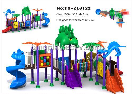 ... playground-jurassic series > Hot Sale Outdoor Plastic Playground for