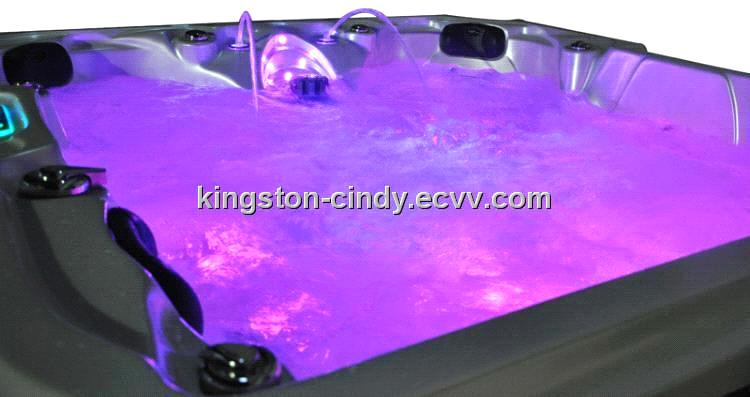 5 Person Water Massage Swimming Spa Hot Tub With Pop Up Tv