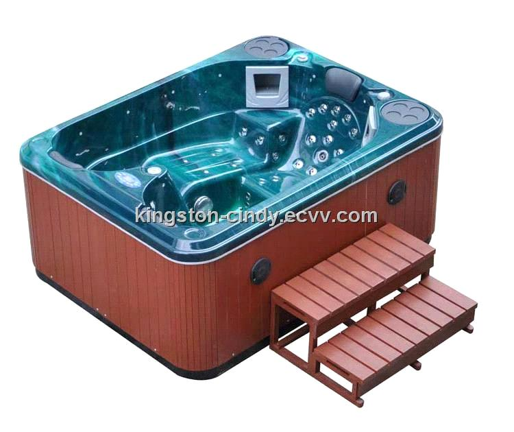 Balboa system 3 person Outdoor Mini Jacuzzi Spa pool with Speaker ...
