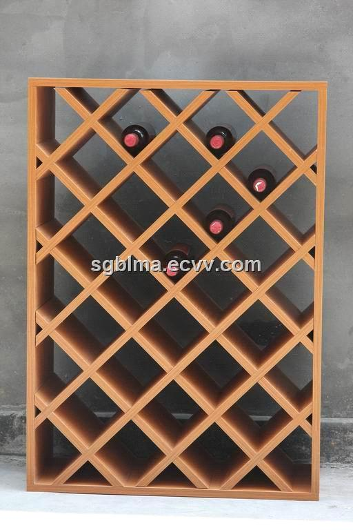 Plywood Wine Racks