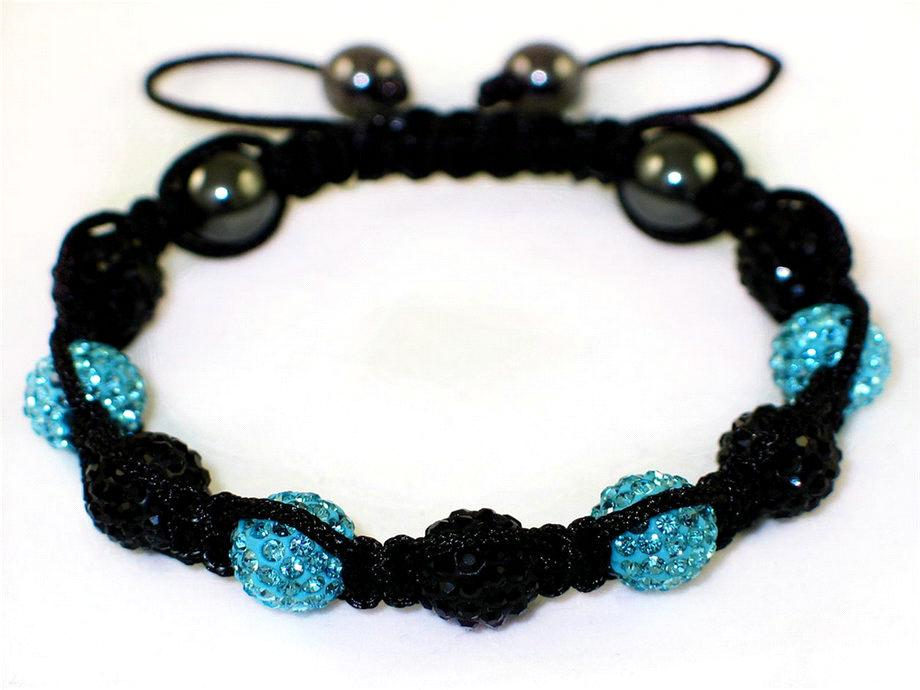 2012 New High Quality Shamballa Bracelet With Crystal Disco Ball 20080101