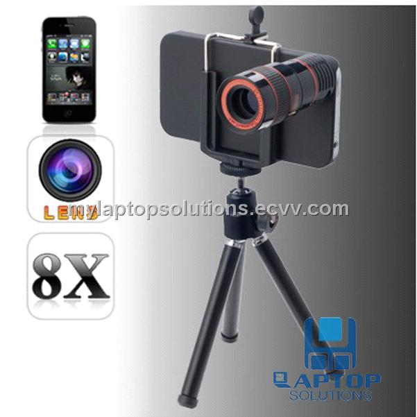 8X Zoom 10mm Optical Telescope Lens For iPhone 4/4S