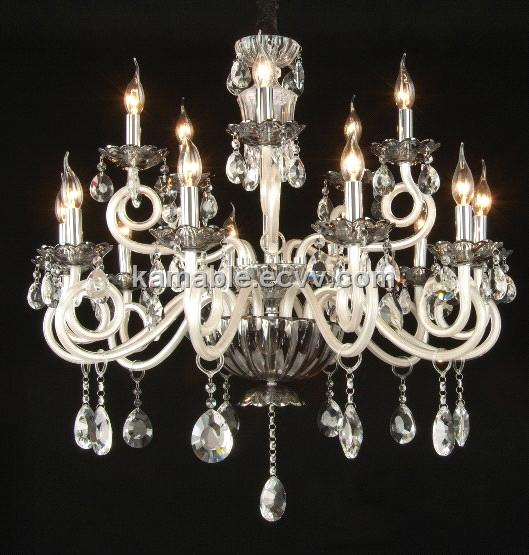 Crystal Glass Pendant Light Chandelier Kd9002 10 5