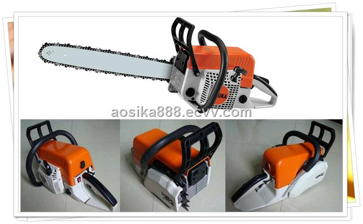 Gasoline chainsaw 52cc 2 2kw garden tools top quality for Best quality garden tools