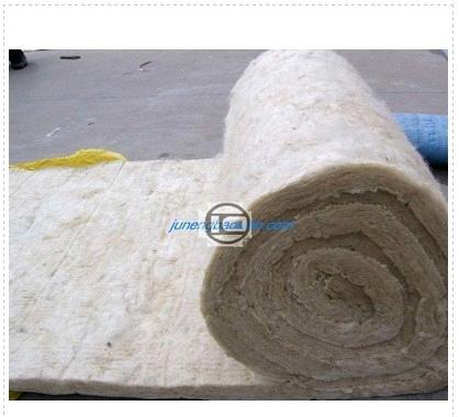Rockwool blanket mineral wool heat insulation roll for Mineral fiber blanket insulation