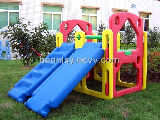 Camping Toys Product : Playground equipment double slide purchasing