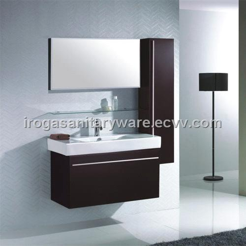 Wenge modern bathroom cabinet is 2007b purchasing for Wenge bathroom mirror