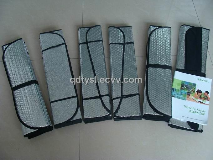 Aluminum Foil Windows : Aluminum foil front window car sun shield purchasing
