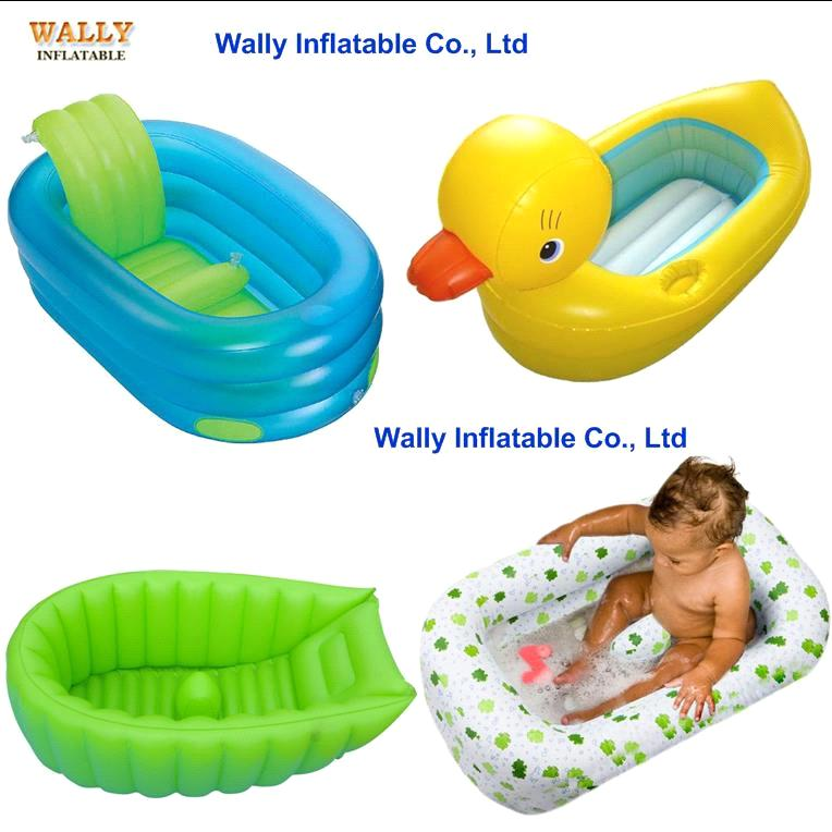 inflatable tub inflatable bath tub inflatable baby bath tub infant toddler inflatable duck. Black Bedroom Furniture Sets. Home Design Ideas
