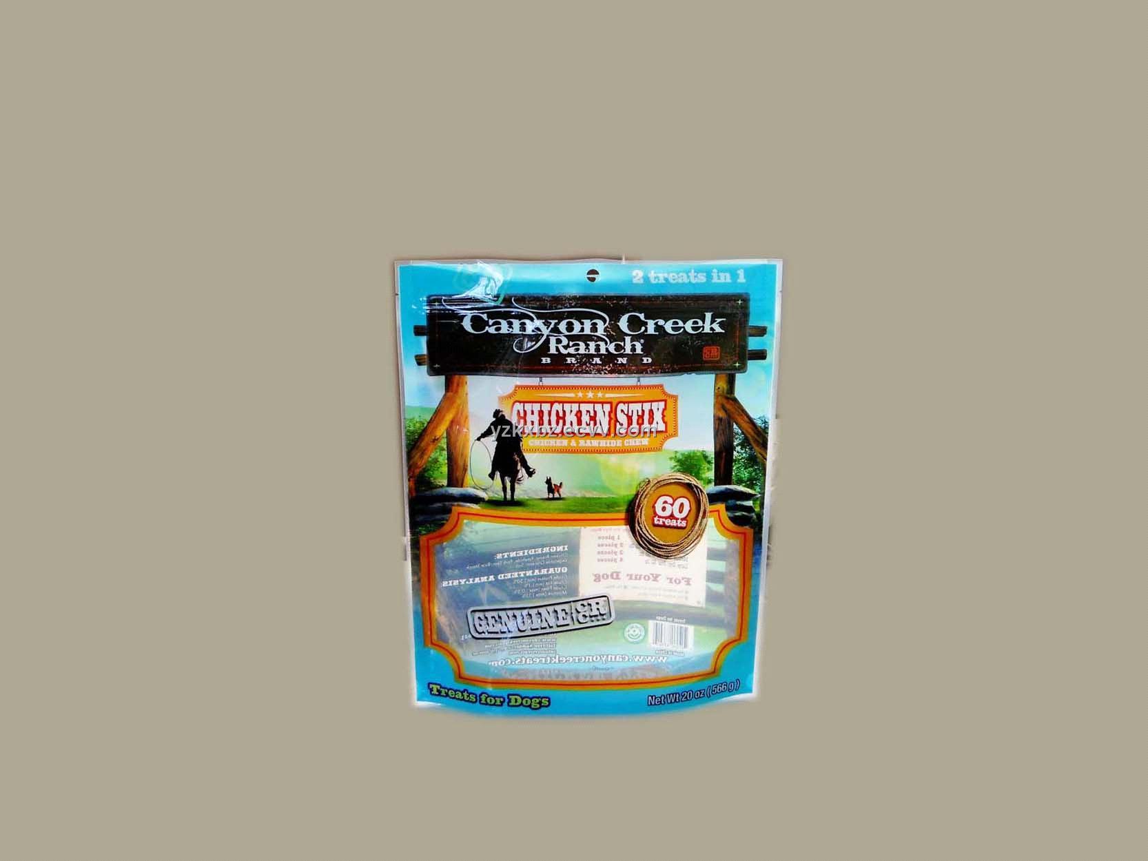 Pet Food Packaging Bag With Zipper Lock Purchasing